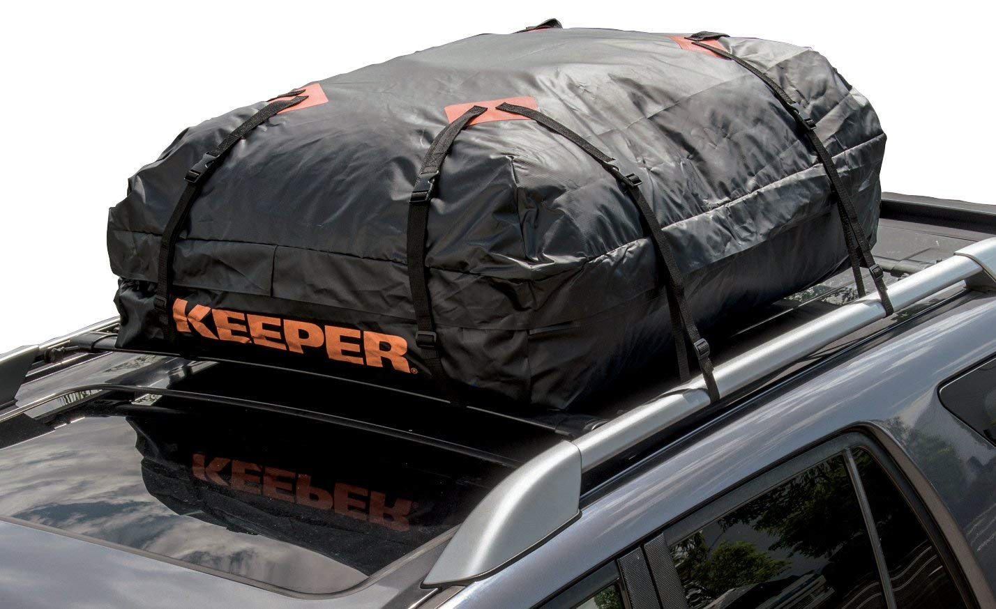 2. Keeper Roof Top Cargo Bag - When you are sleeping in your car's cargo area there isn't really anywhere to keep your stuff. Enter in the all mighty roof rack. While there are a wide range of options out there we liked the Keeper Waterproof Cargo Bag ($47.35) because it's compatible with all roof rack styles and is easy to install. It's built tough and made to protect your gear from rain, wind, sun and road debris.