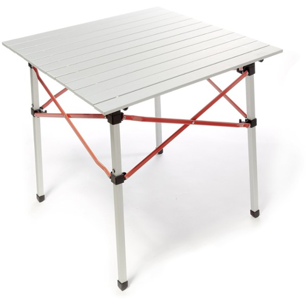 8. REI Co-op Camp Roll Table - You need a table when you're camping, regardless of whether it is to cook, eat, or play cards. The Camp Roll Table is affordable and made with aluminum construction meaning it's both sturdy and heat-resistant so you won't burn a hole through the top with a cook pan.
