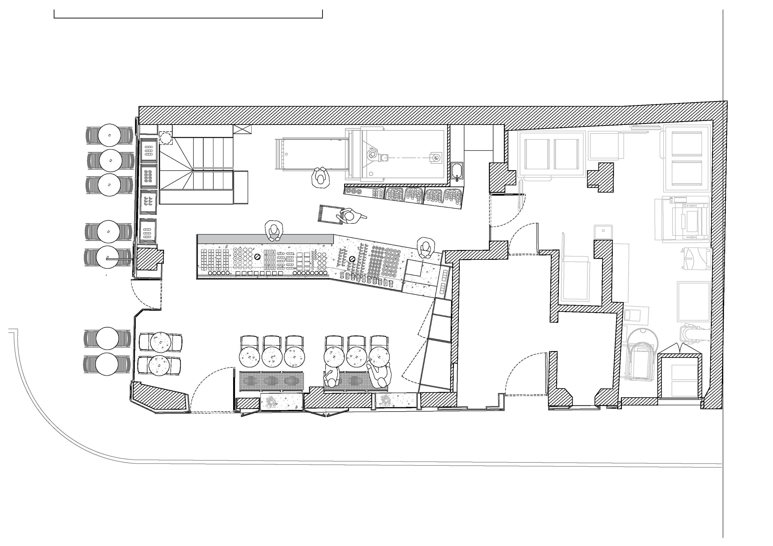 123 - Chez Meunier rue St Denis CUT architectures GF plan.png