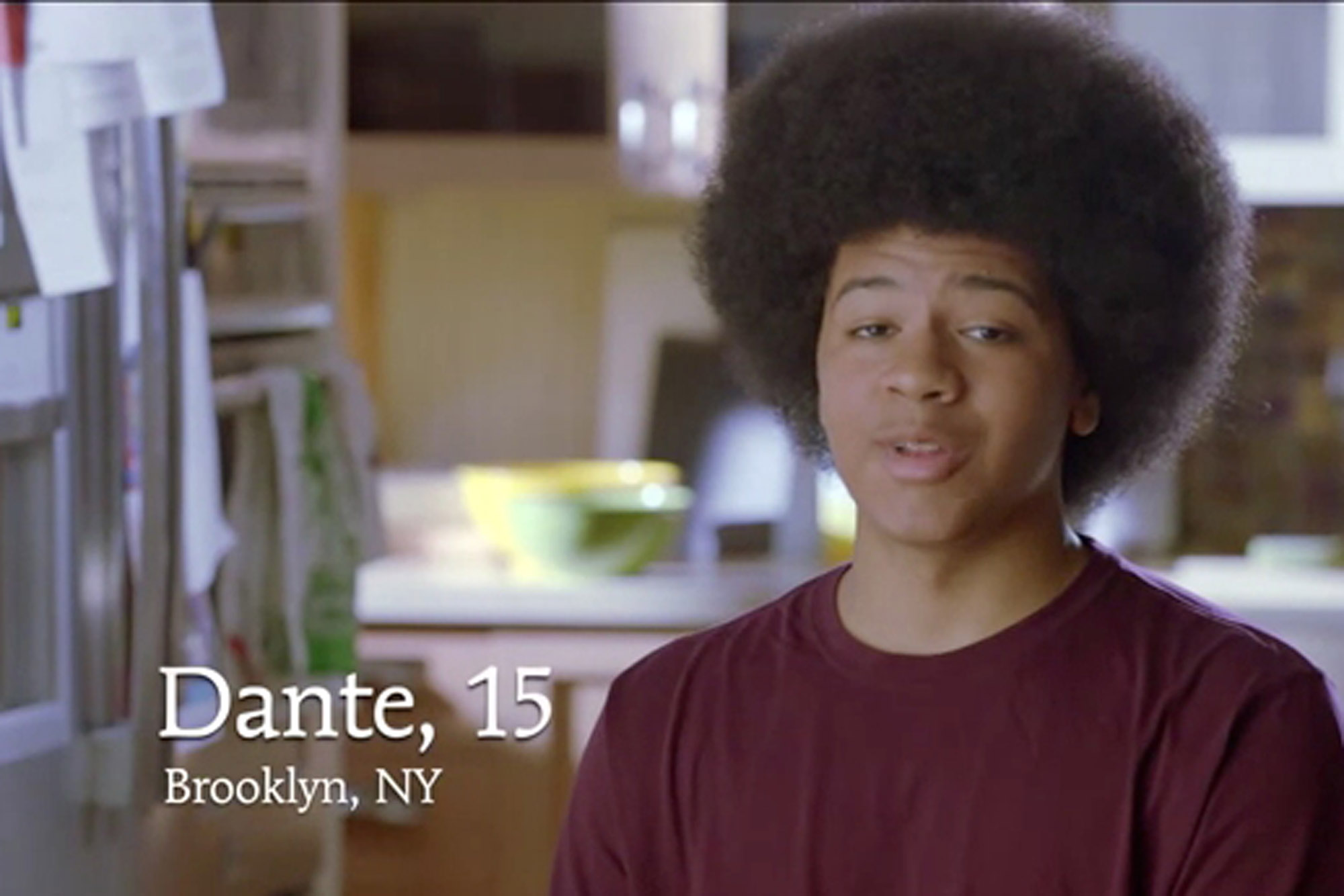 Dante de Blasio, son of Mayor Bill de Blasio, has served as a frequent talking point in the mayor's talk about healing the relationship between police and community. However, the mayor has not been able to use his bi-racial family to actually bridge the gap between a multi-cultural New York City. Source :  New Yorkers for de Blasio Campaign Commercial/YouTube Screen Shot