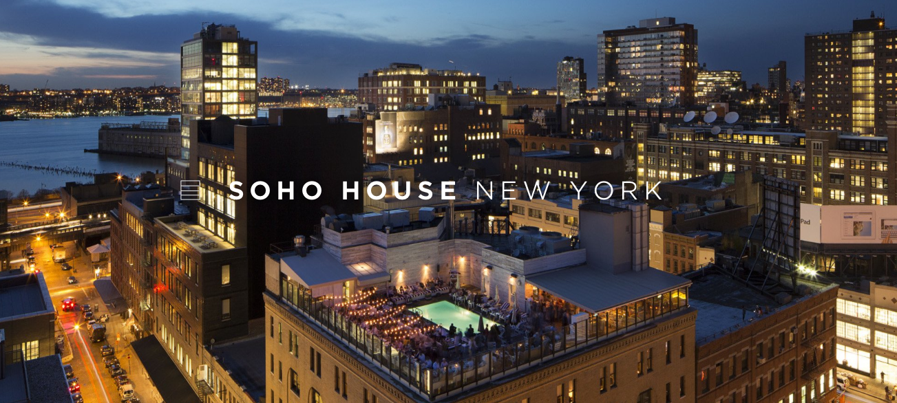The  Soho House  had been providing free memberships to two Manhattan  Community Board 2  members.  Source :  Soho House