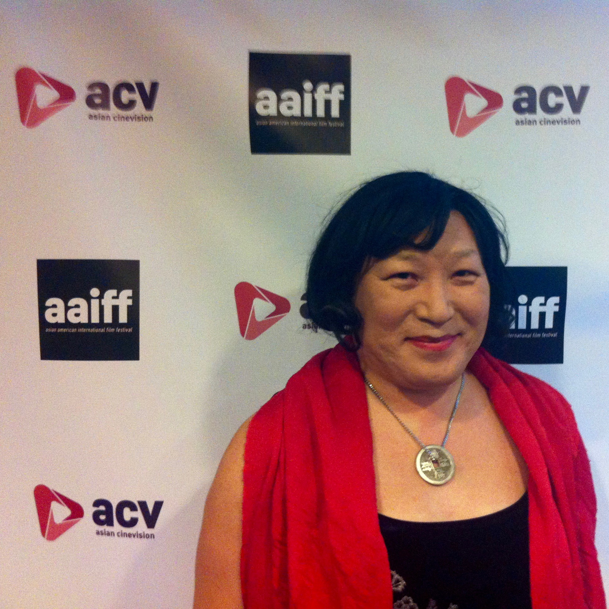 Pauline Park  at the  2016 Asian American International Film Festival  at Village East Cinema. Source : Louis Flores/Progress Queens
