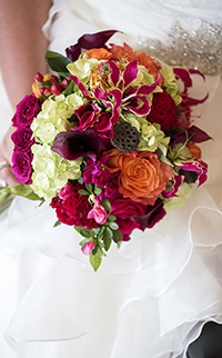 Bouquet design by   Inspired by Nature