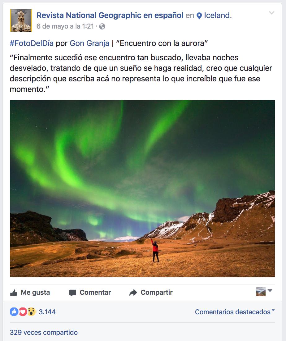 Foto del díaREVISTA NATIONAL GEOGRAPHICEN ESPAÑOL -