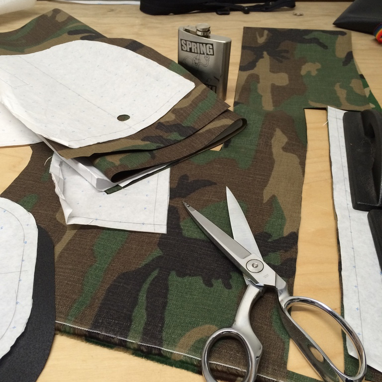 We make our own patterns, and sew samples in-house. There's no better way to understand every detail of what you're building.