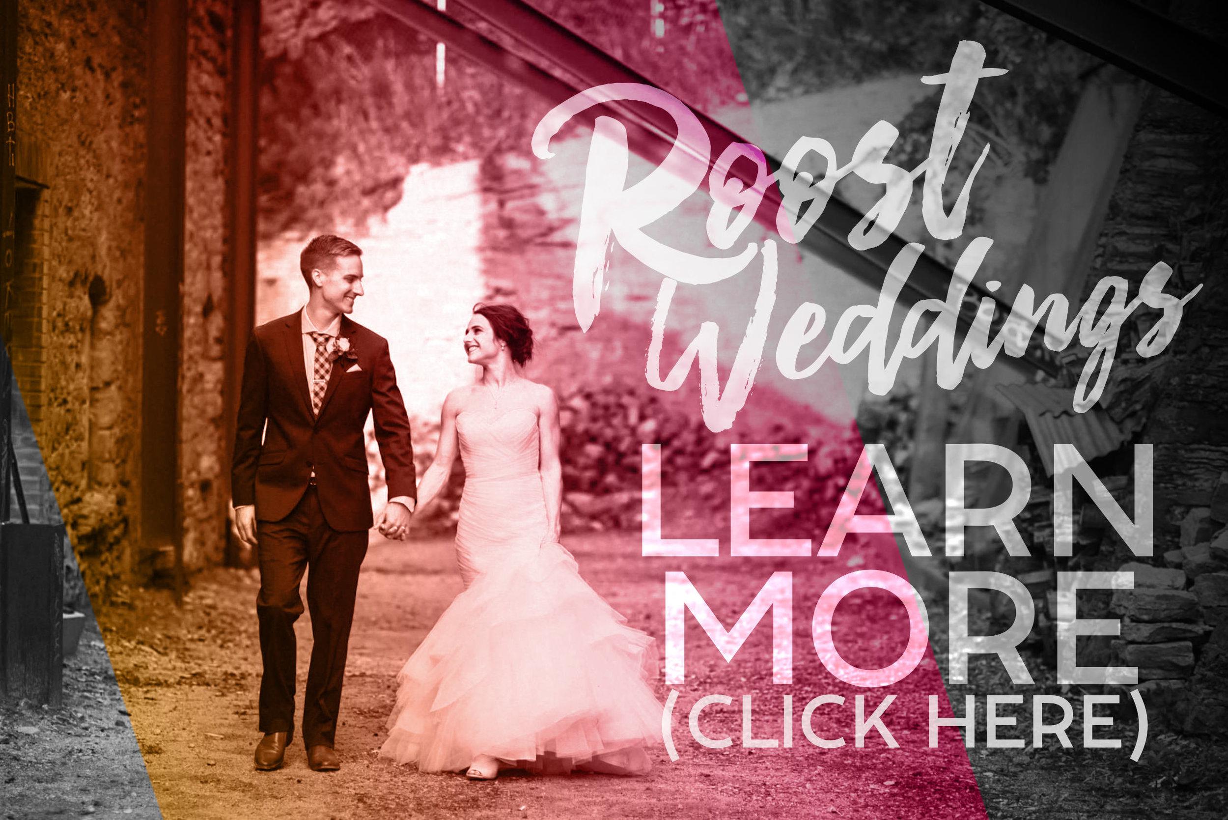 Roost Weddings -