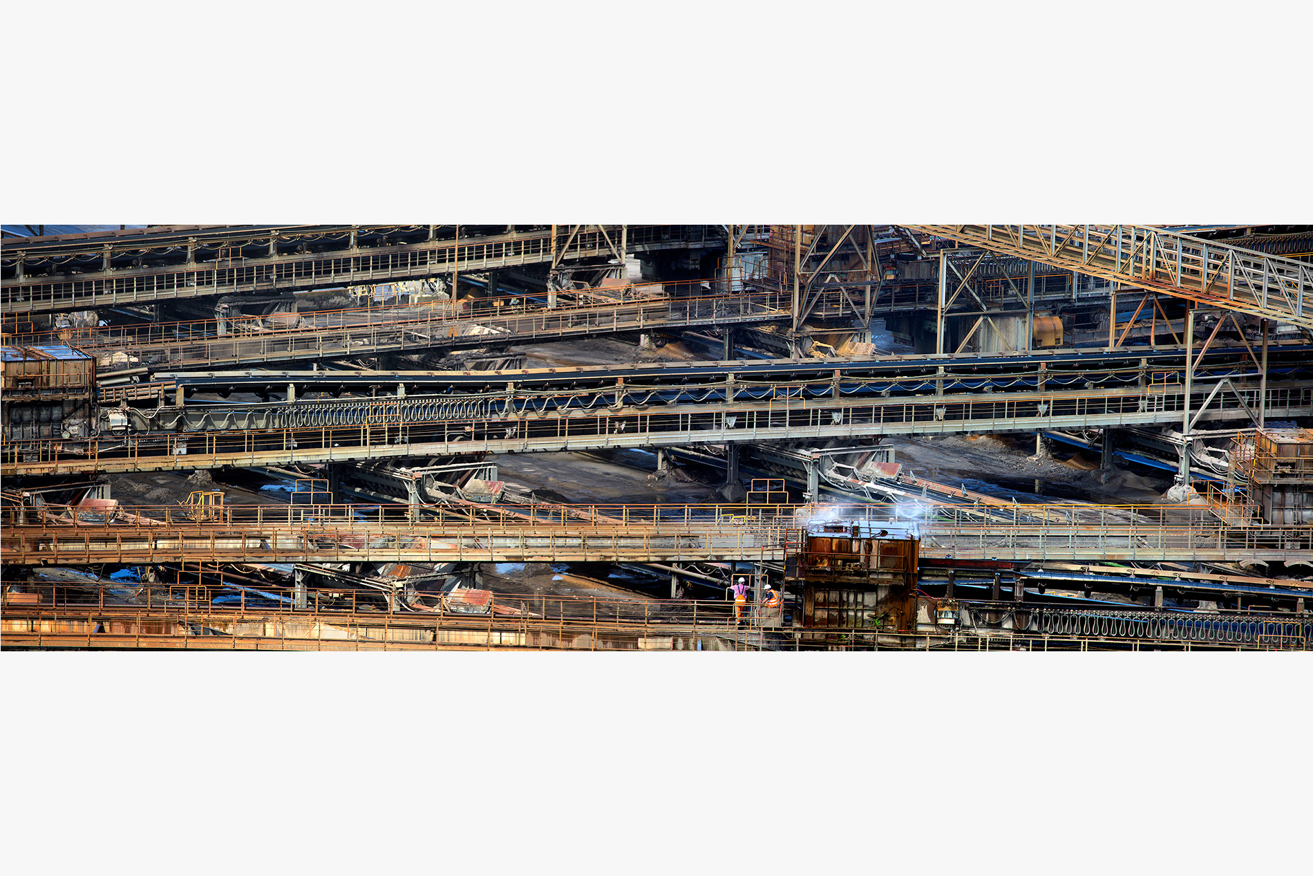 Balafres 739 - 741 (2015-16) Pigment inks on Fine Art paper, 39 x 120 cm, 3 + 2 AP, Artist's Collection  ©Tania Mouraud ADAGP