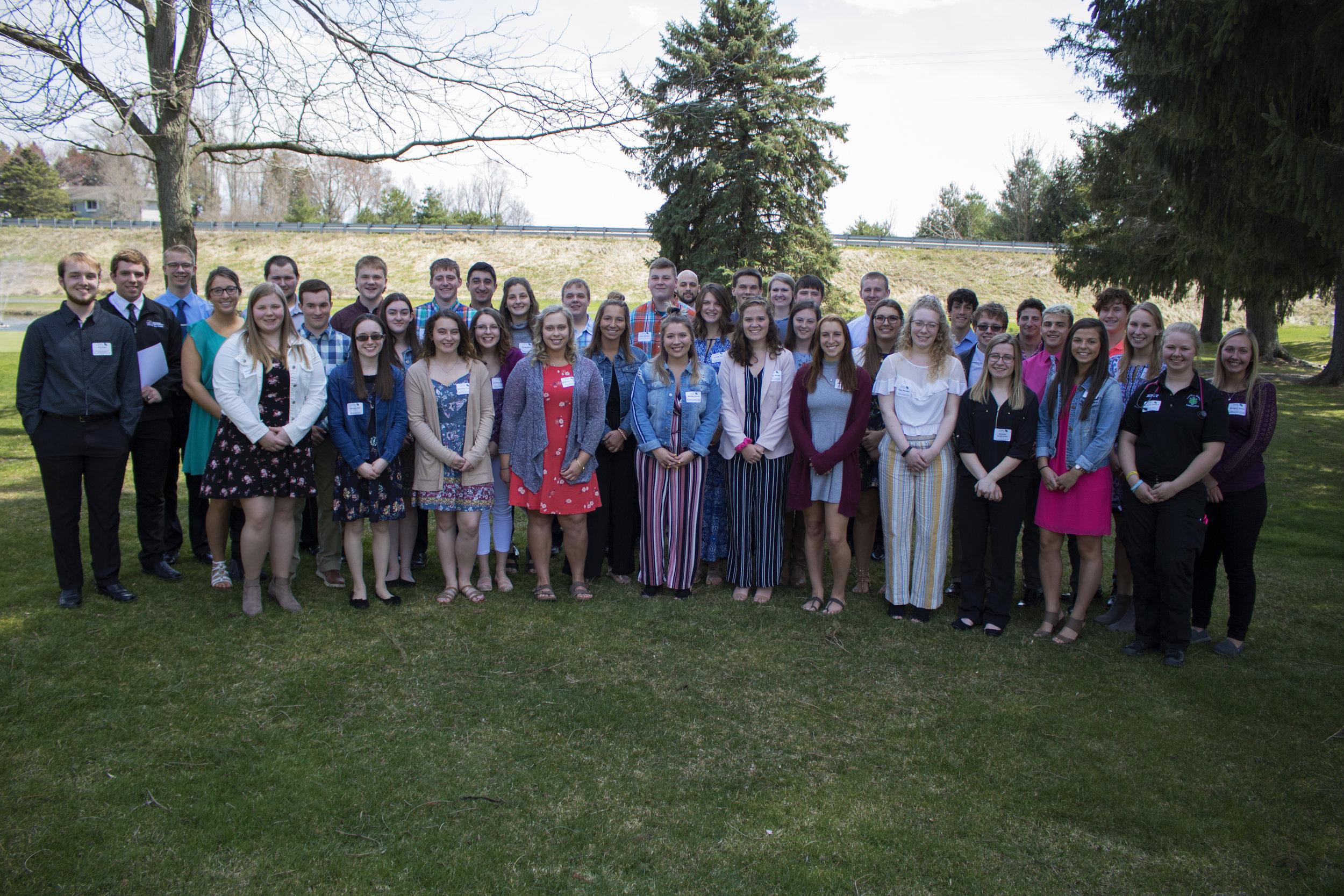 The 2019 HCCF Scholarship Recipients