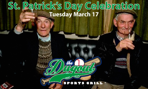 Party with the regulars at The Dugout
