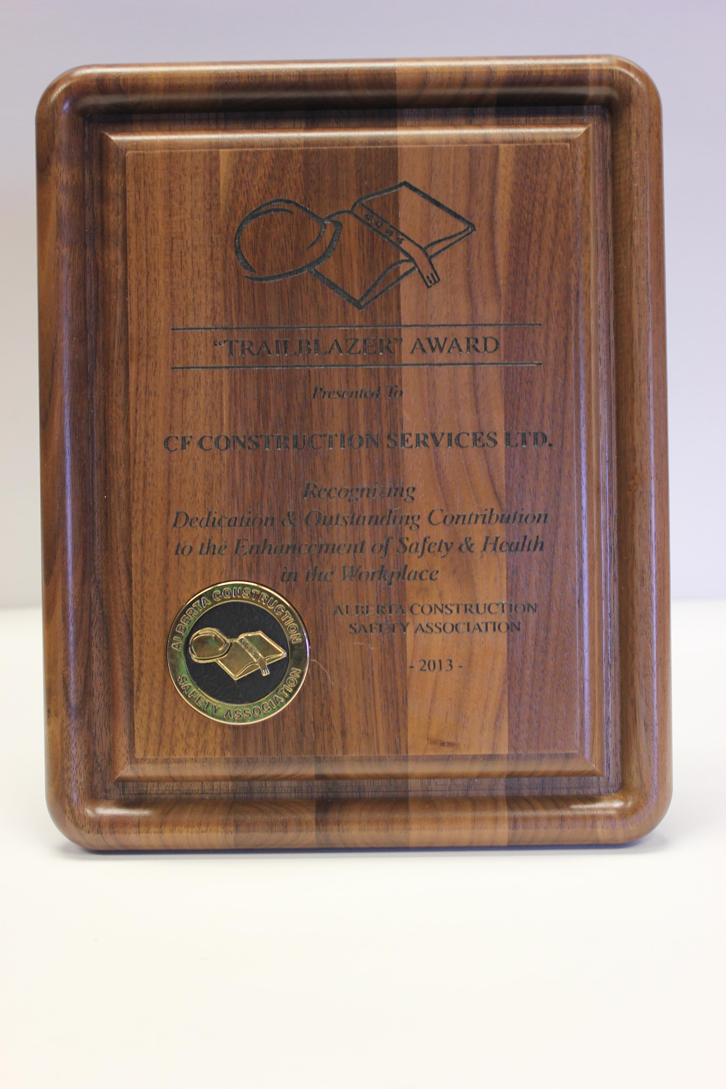 2014 Trailblazer Award