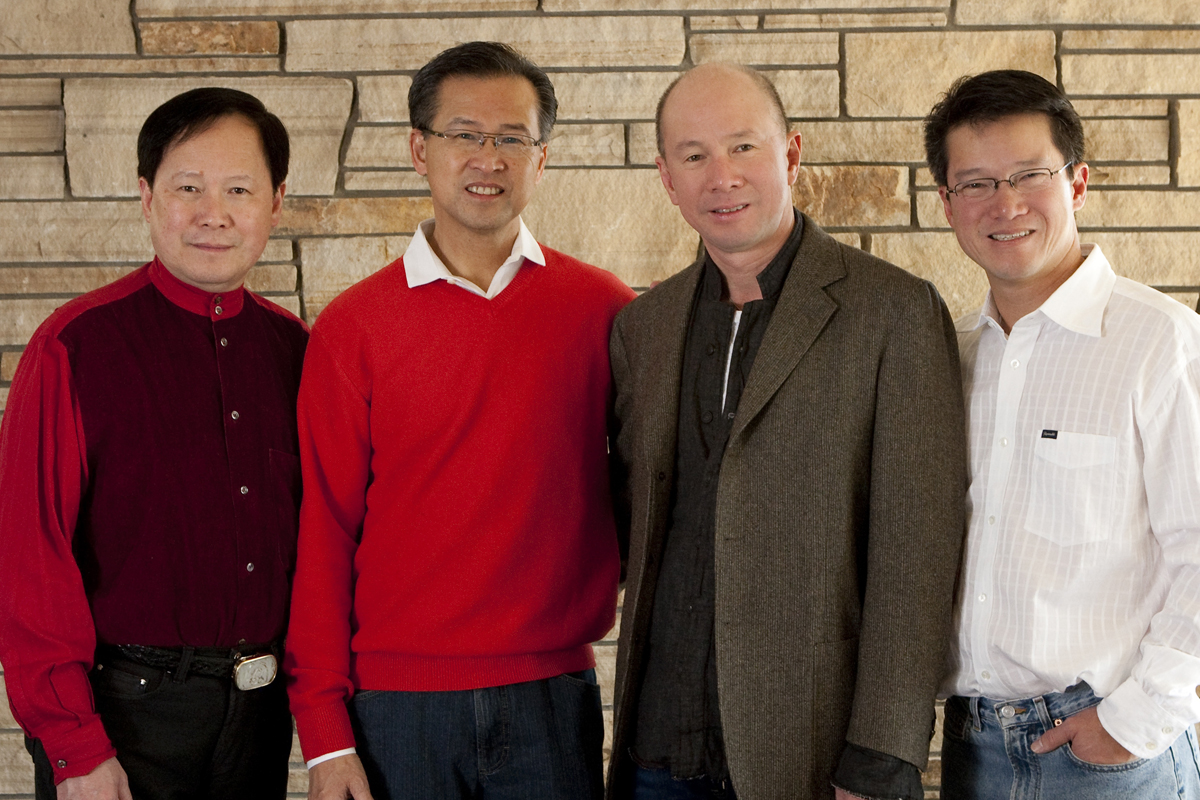 From left to right, Dennis K. Law, MD; Ronald K. Law, MD; Christopher K. Law, MD; and Jeremy K. Law, MD