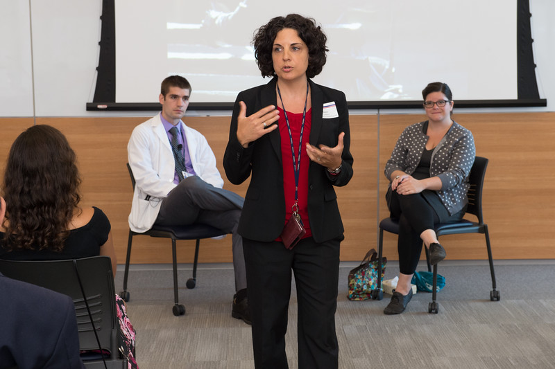 """Denise LaMarra, Director of the Standardized Patient Program, sets the stage in """"What Is a Standardized Patient?"""""""