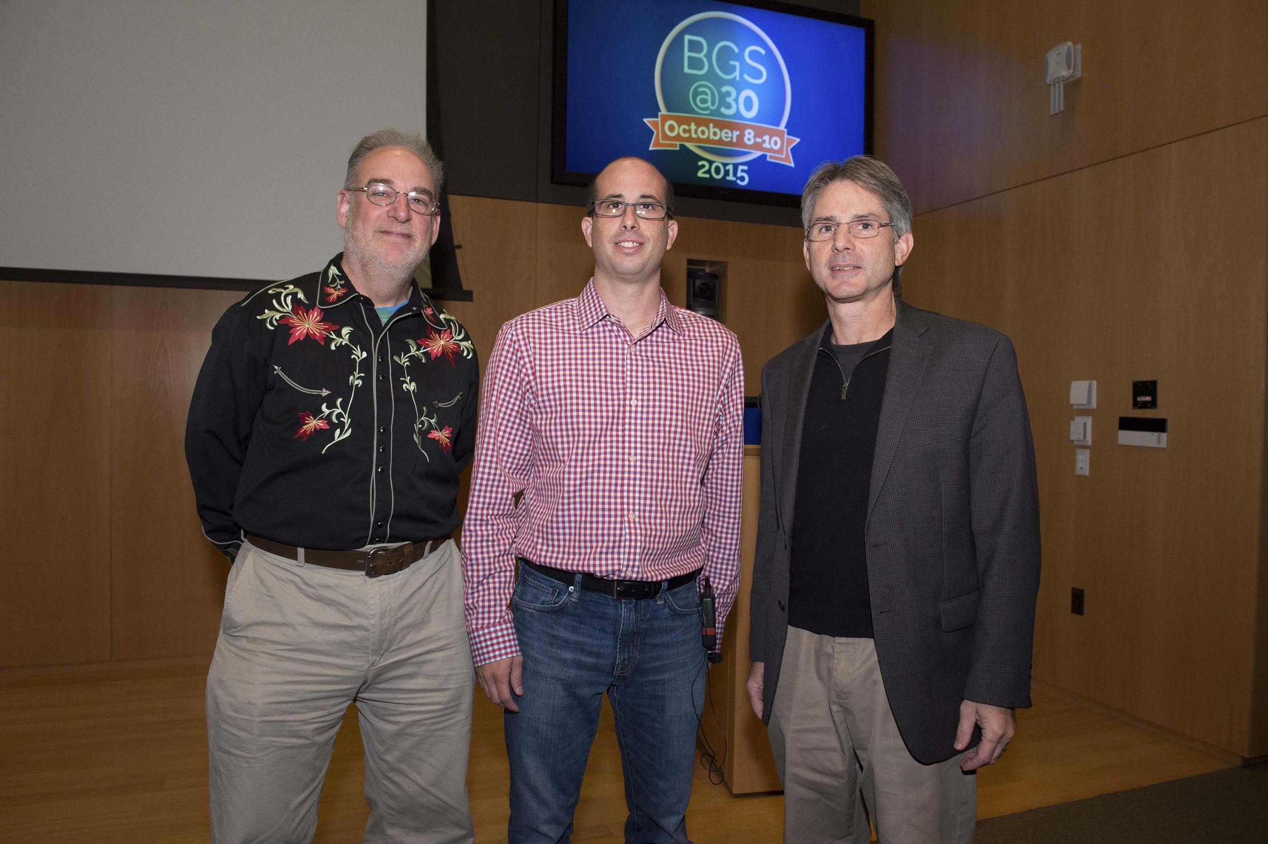 Mikey Nusbaum, Aaron Gitler, and Jon Epstein