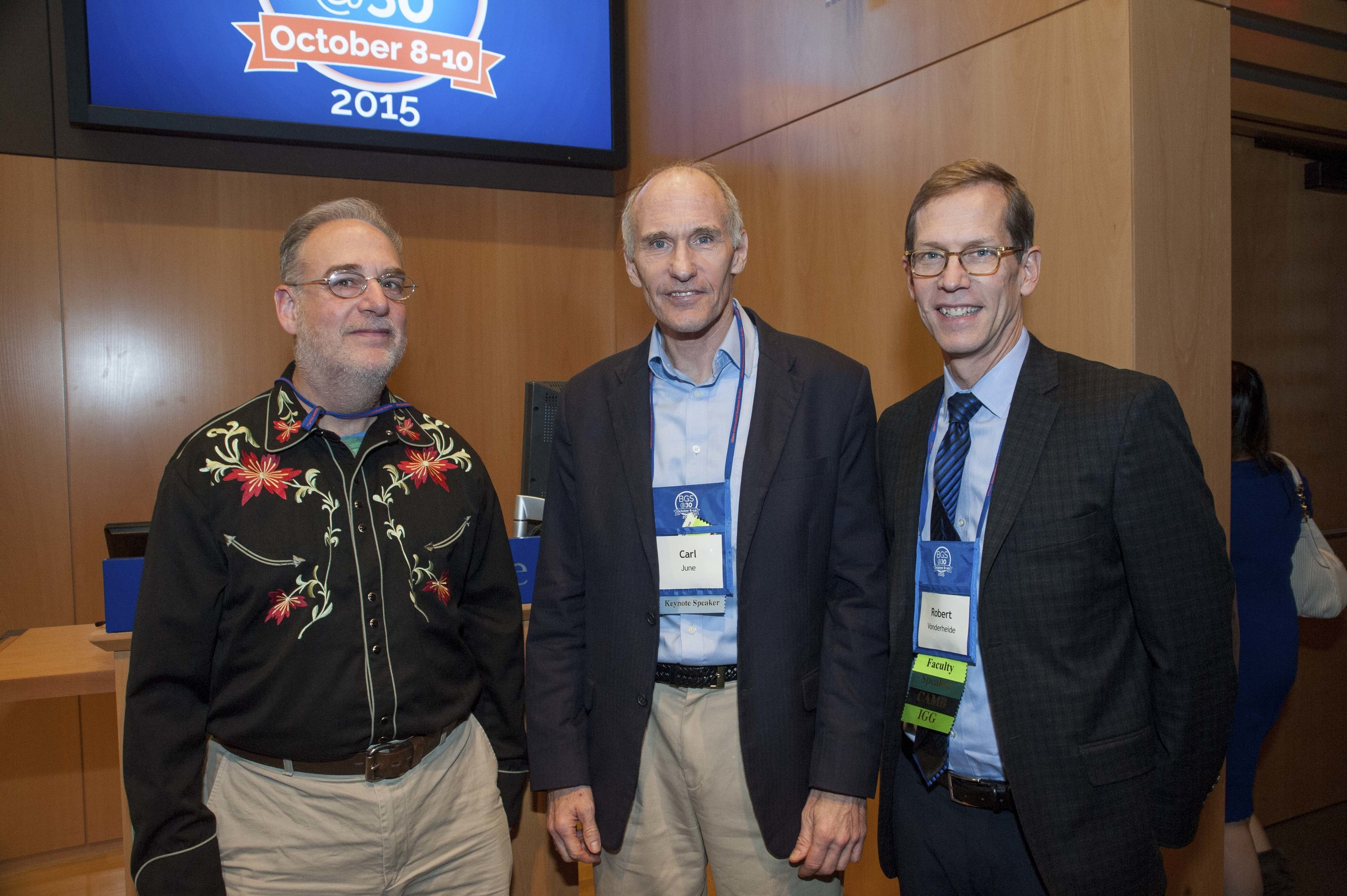 Mikey Nusbaum, Carl June, and Robert H. Vonderheide, MD, DPhil,Hanna Wise Professor in Cancer Research; Associate Director for Translational Research, Abramson Cancer Center; Vice Chief for Research, Hematology-Oncology Division, Department of Medicine