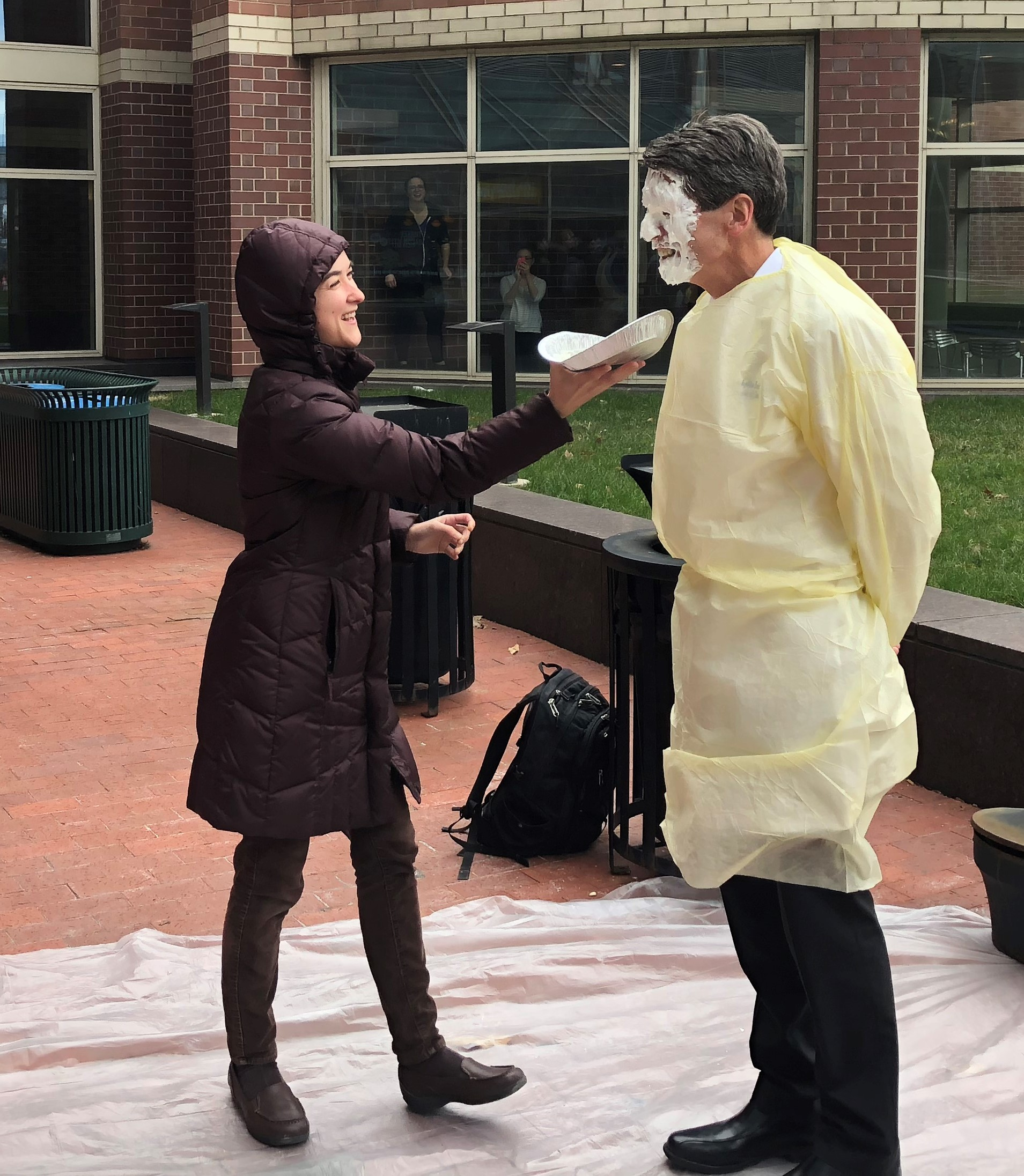 Brian Keith pied by Danielle  Sanchez