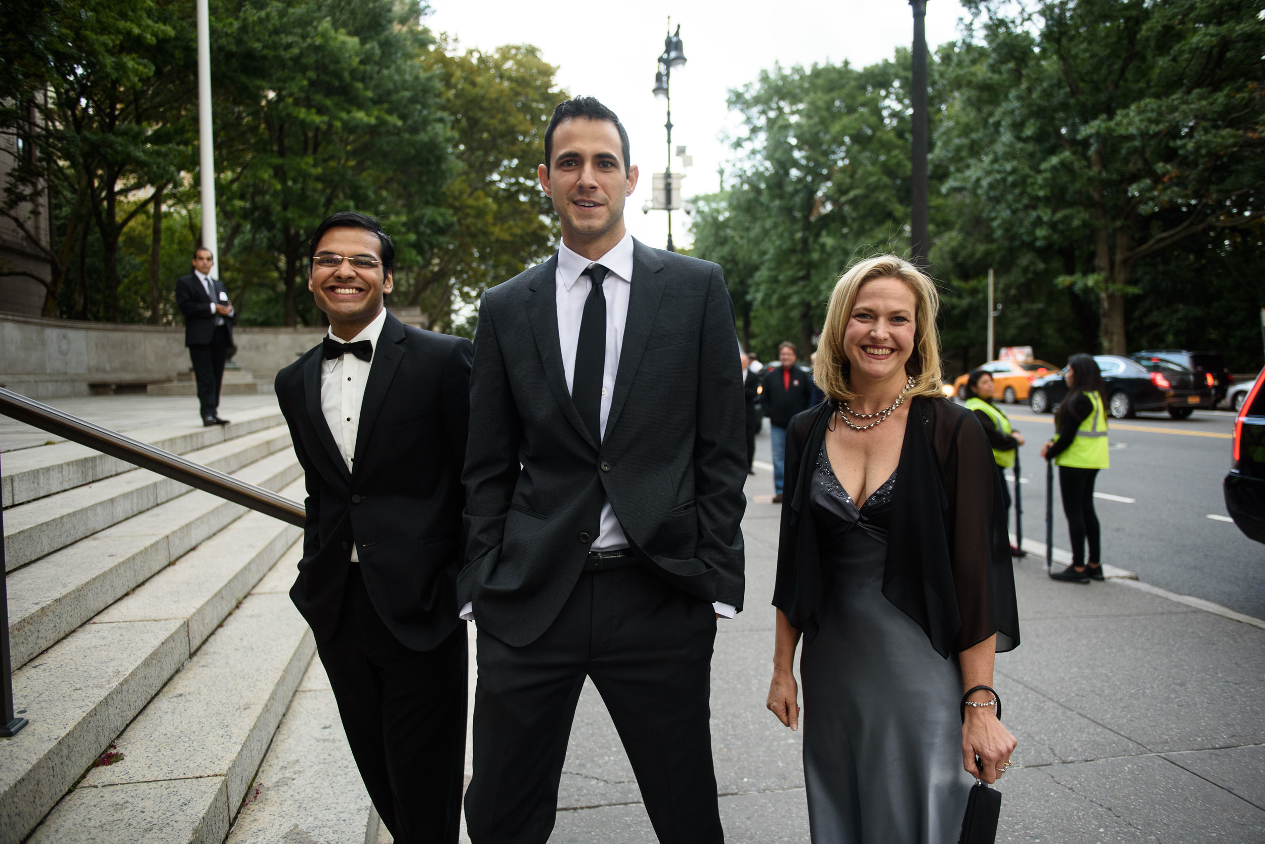from left   Divyansh Agarwal, Kamen Simeonov, and Dr. Kelly Jordan-Sciutto