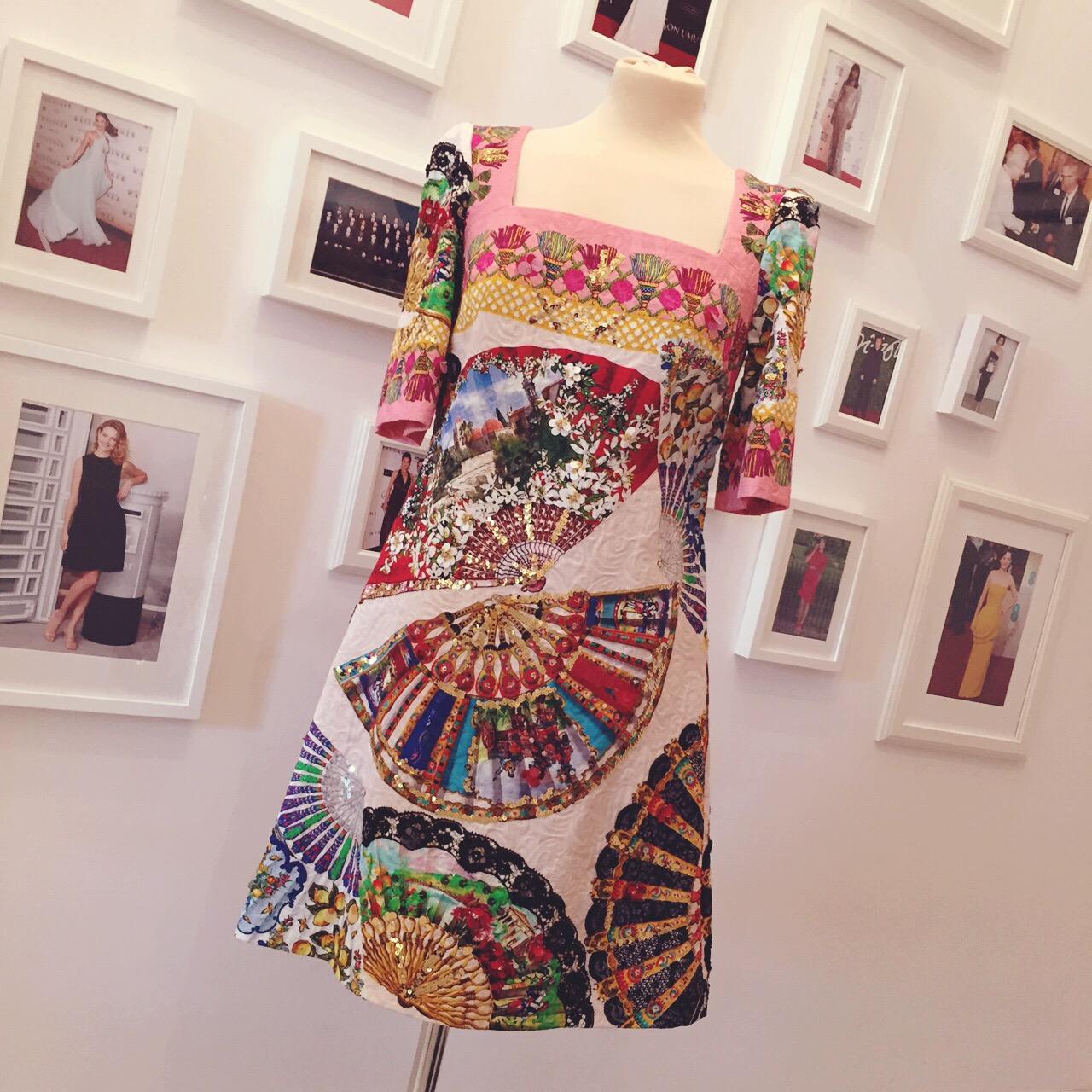 Dolce and Gabbana Dress 2015