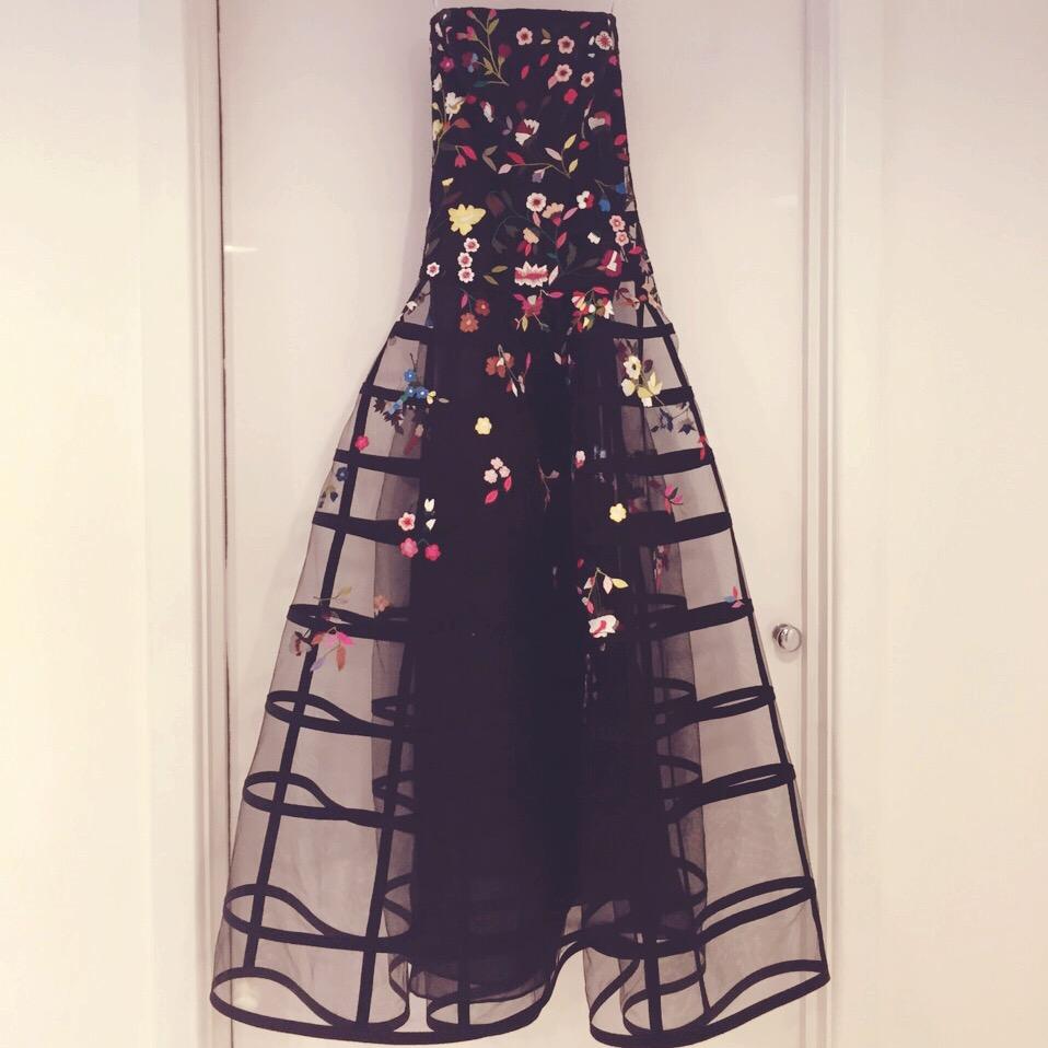 Silk Tulle Dress