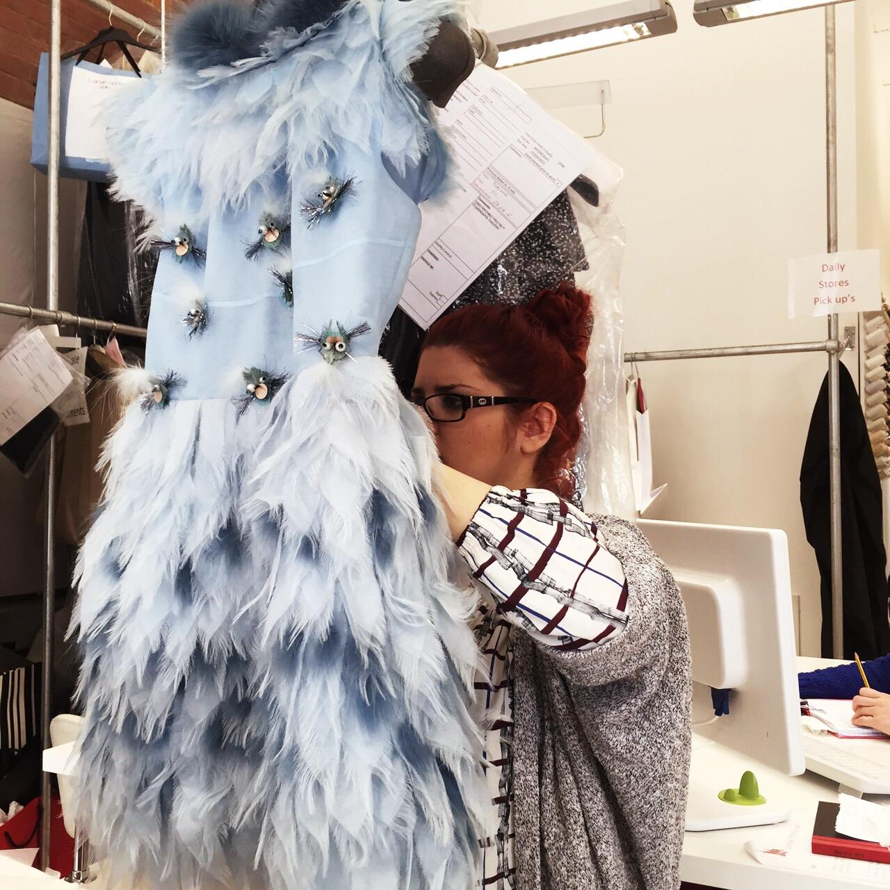 Feather Dresses UK