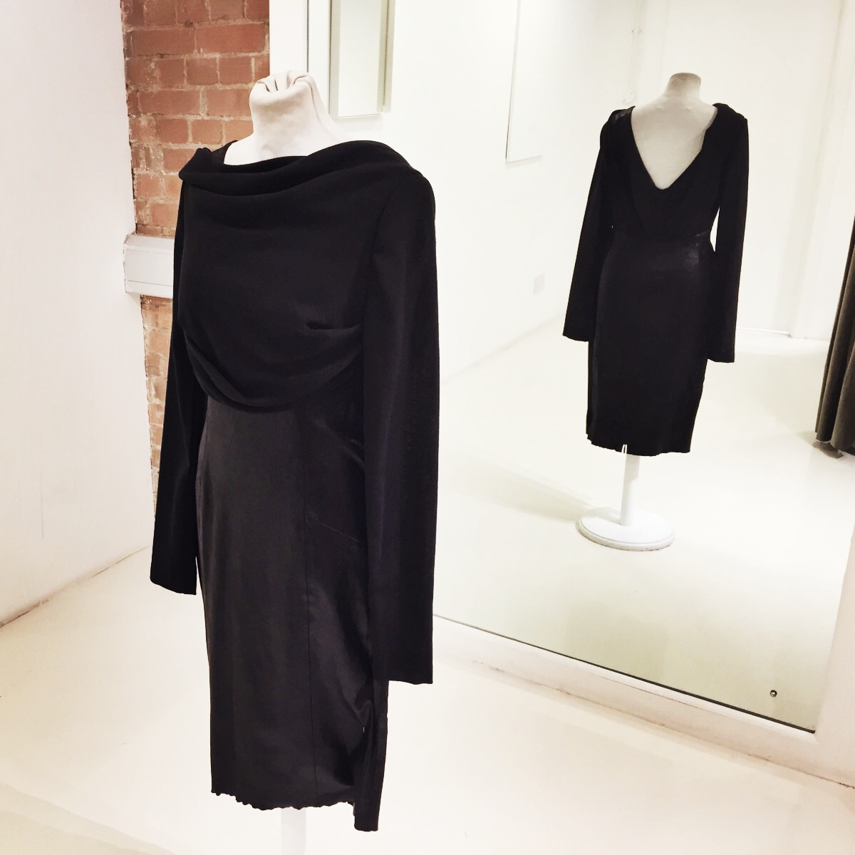 Leather Winter Dress