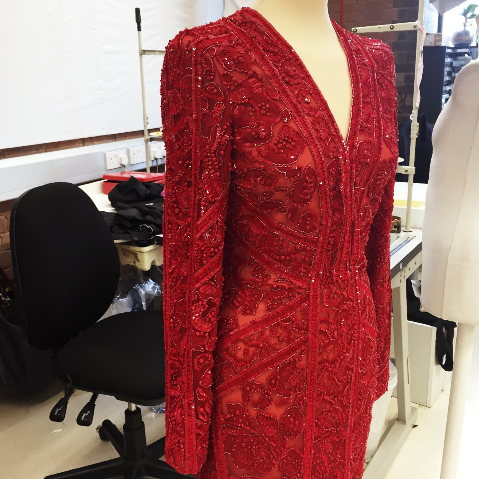 Red Winter Dresses