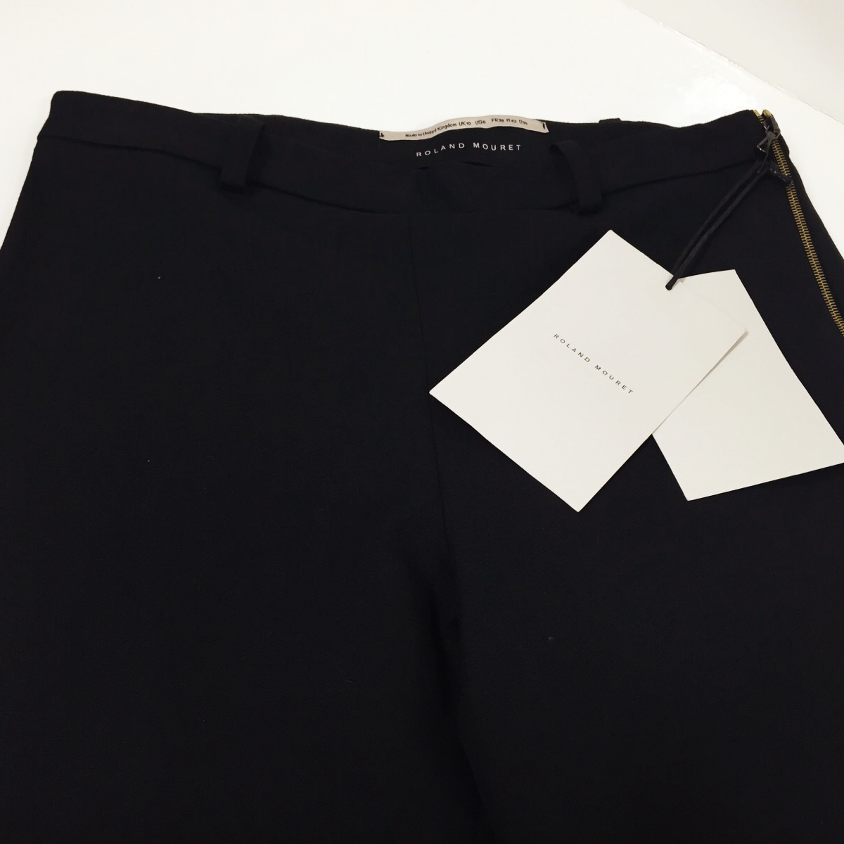 We tapered the legs from hips to nothing at hem, keeping the full flair hem.