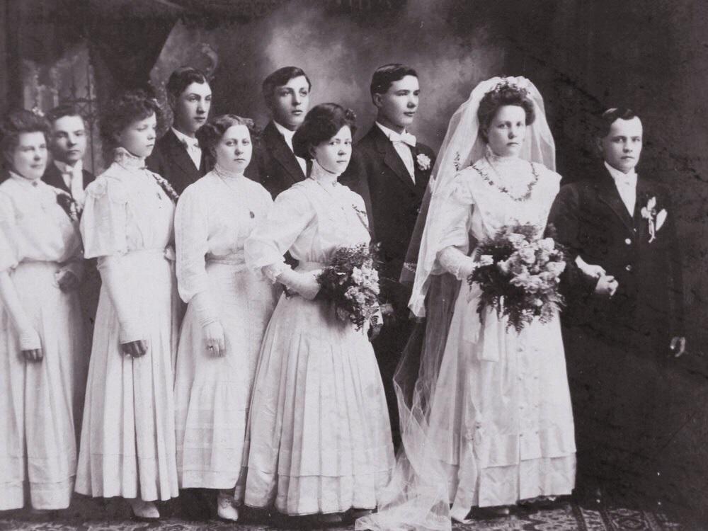 1900s Wedding