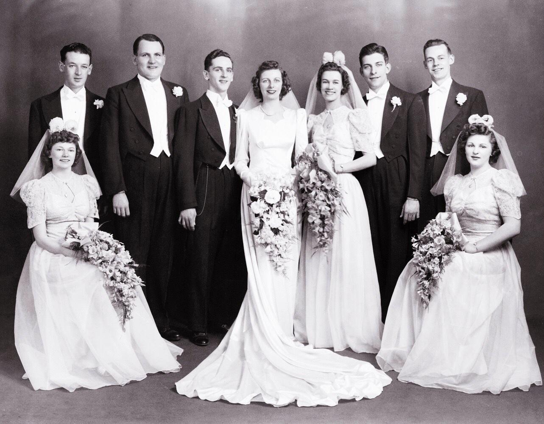 1940s Bridesmaid Dresses