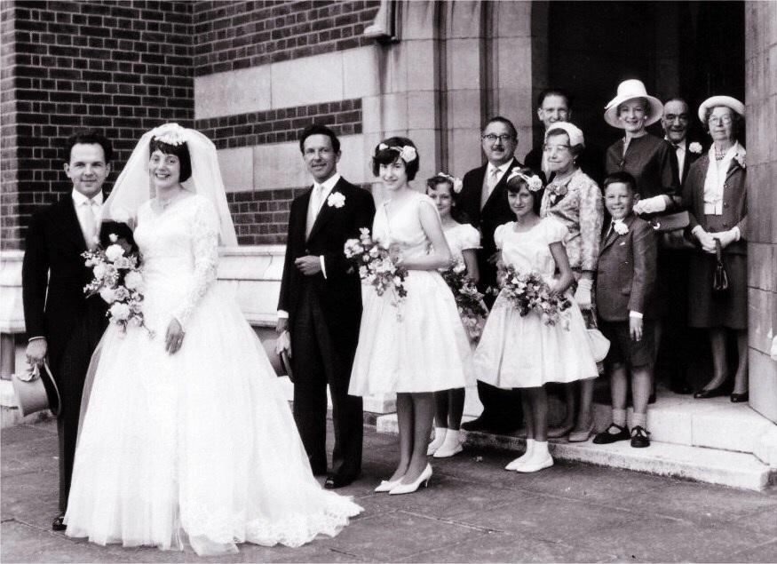 1960s Bridesmaid Dresses
