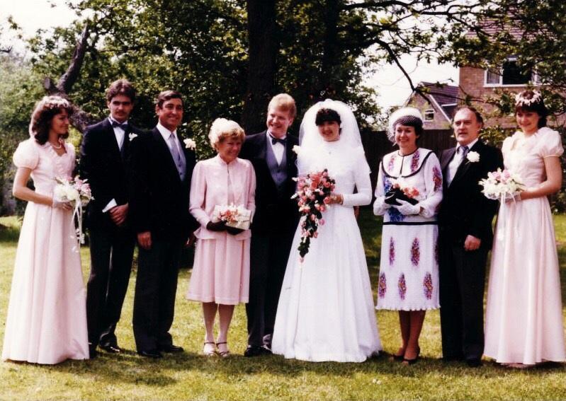 1980s Bridesmaid Dresses
