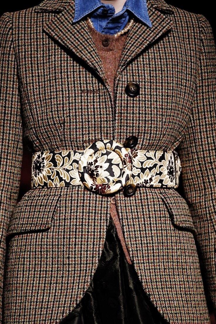 Miu Miu Tweed