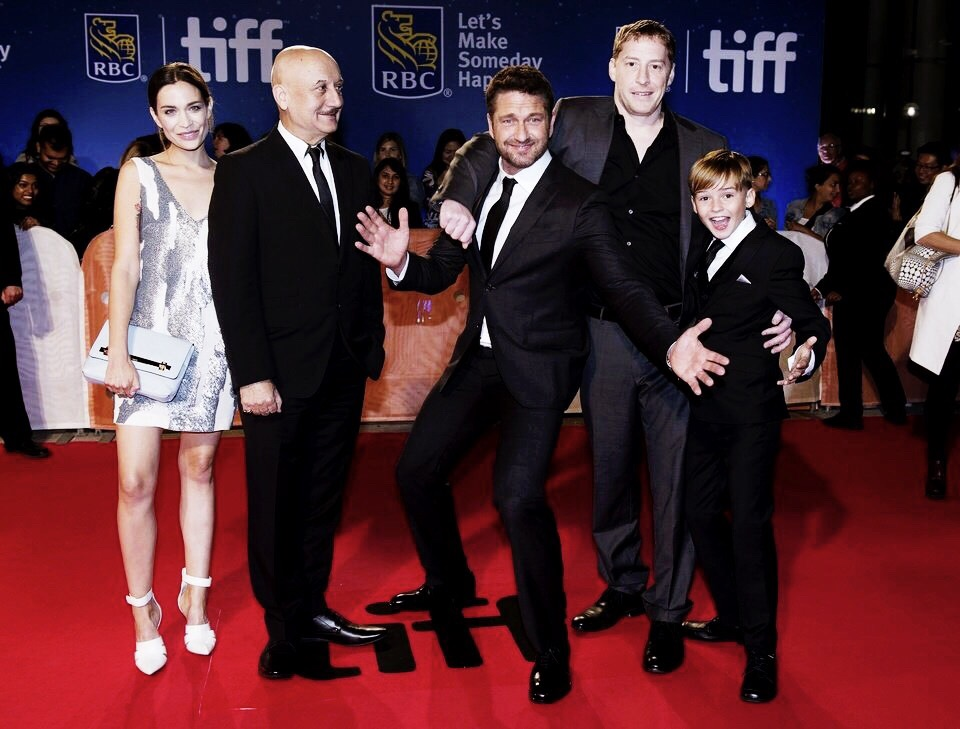 Gerard Butler Toronto Film Festival 2016
