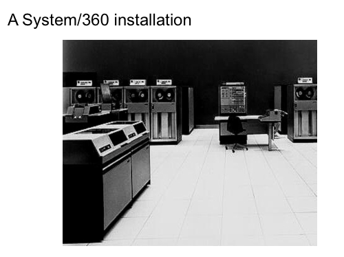 From IBM archives