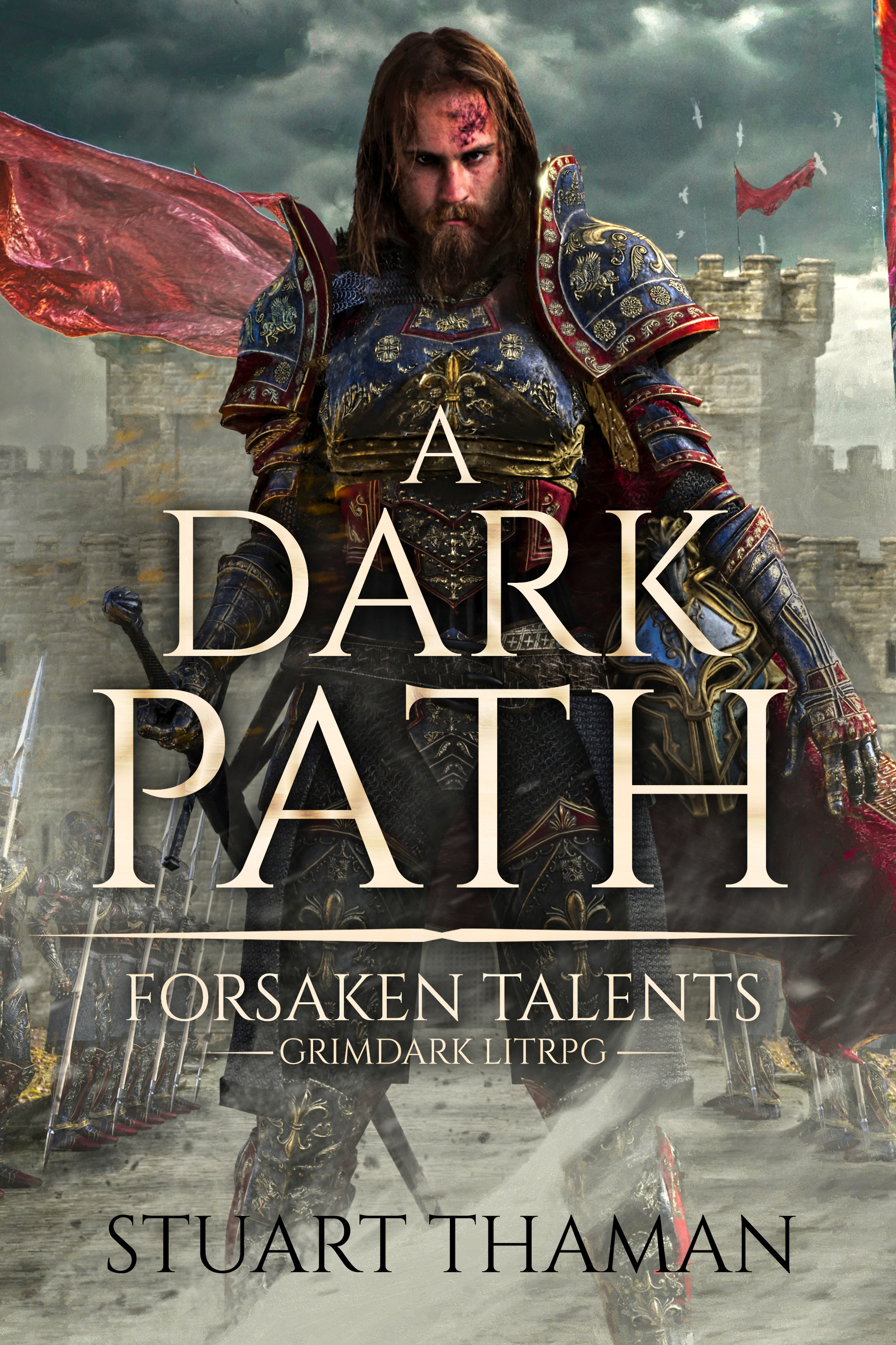 Forsaken Talents - A grimdark LitRPG with lots of dungeon building and town management. If you like playing games similar to Civilization, Starcraft, Warcraft, or any tower defense games, you'll love Forsaken Talents.The characters in Forsaken Talents voluntarily enter a game world with their own physical bodies, very unlike the standard VR tropes. Things take a rather immediate turn for the worst, and lots of horror elements are brought into the story. Throughout the main character's transformation, he also becomes extremely evil.