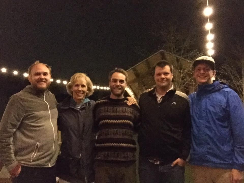 Erik Anderson, Jan Kagarice, Adam Dillon, Samuel Mitchell, Tucker Woerner