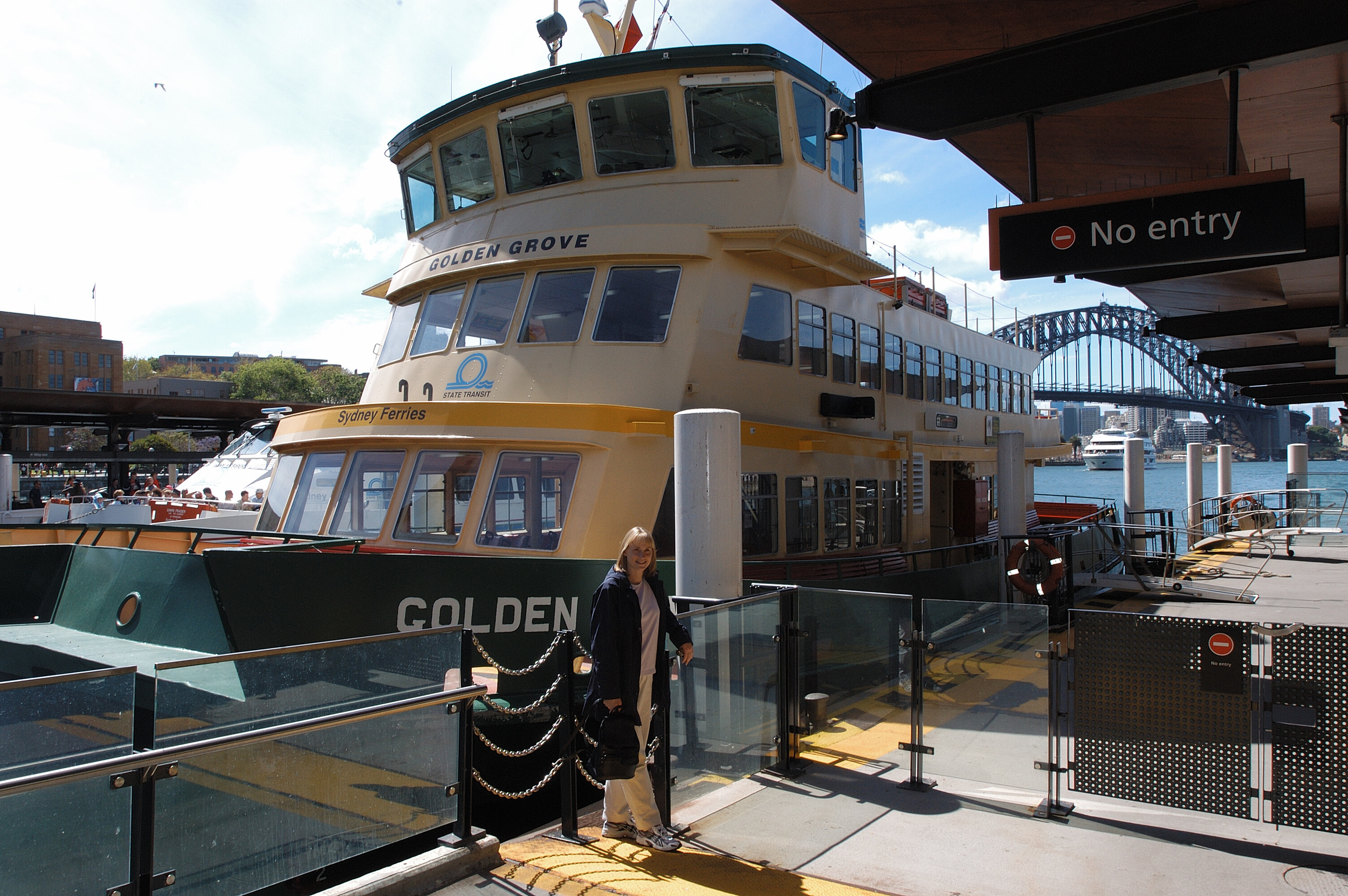 One of the Sydney Ferries
