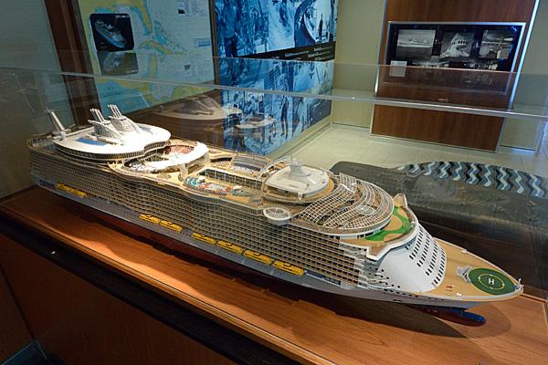 Allure of the Seas model