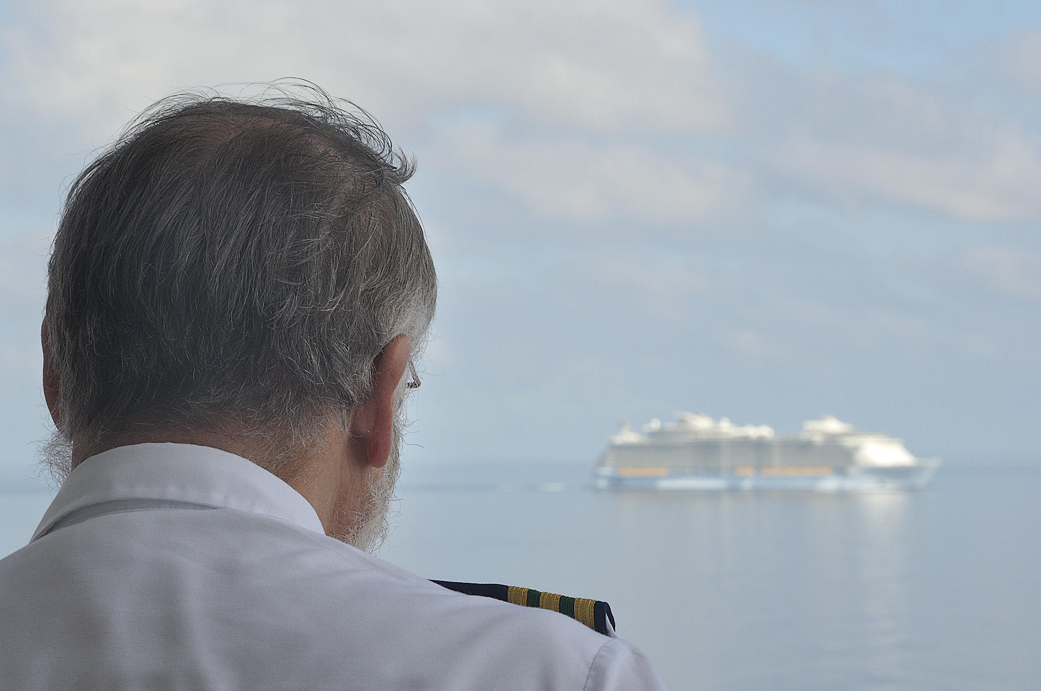 In 2009 we were aboard the Navigator of the Seas when Oasis made her inaugural voyage out of Fort Lauderdale.  When the captain announced she was alongside, the spa crew, the waiters, even the officers came out to the rail to see her sailing beside us.  There was nothing like this on the seas, it was a complete innovation for cruising and I was captivated by this new ship, but a little fearful about her size.  The following year, I booked a voyage on Oasis of the Seas and was pleasantly surprised!