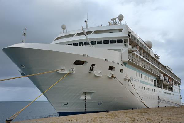 Docked at Raiatea