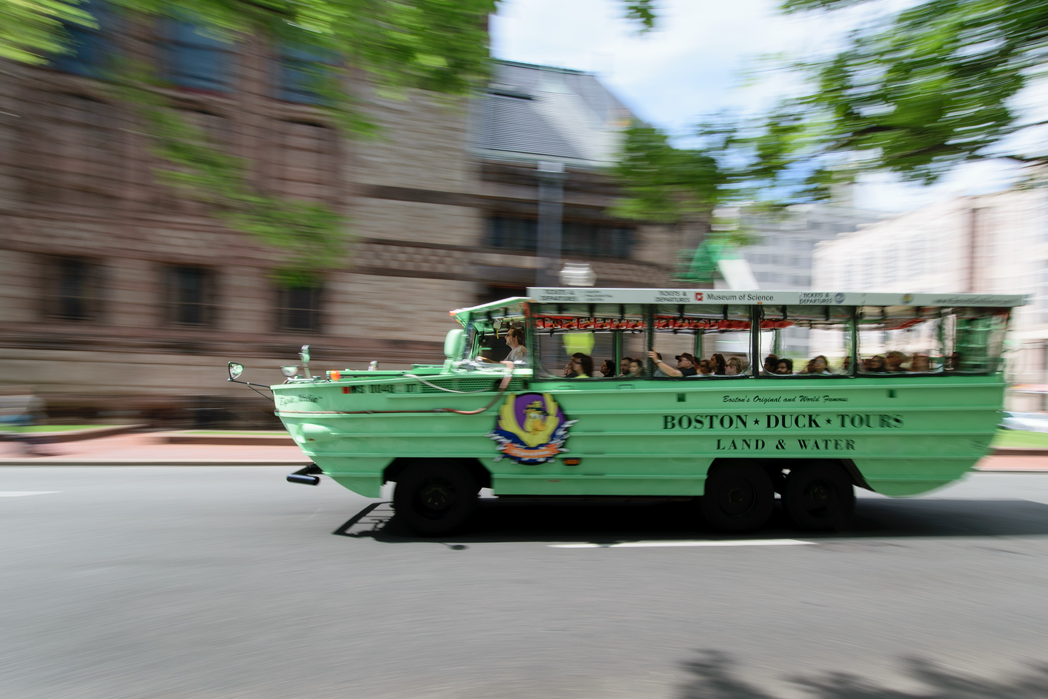 "Tourists can take a Duck Tour and see all the top sights in Boston, and maybe your ""duck"" will be the one Big Papi rode in along one of the Red Sox Championship Parade route!"