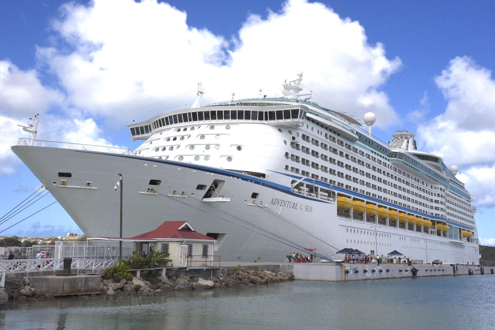 Adventure of the Seas in St John