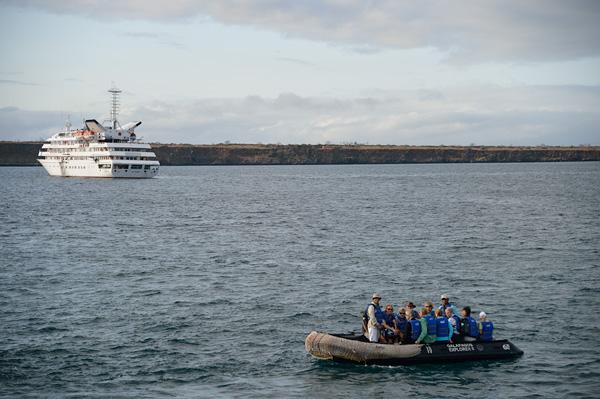 Galapagos Explorer IINorth Seymour Island