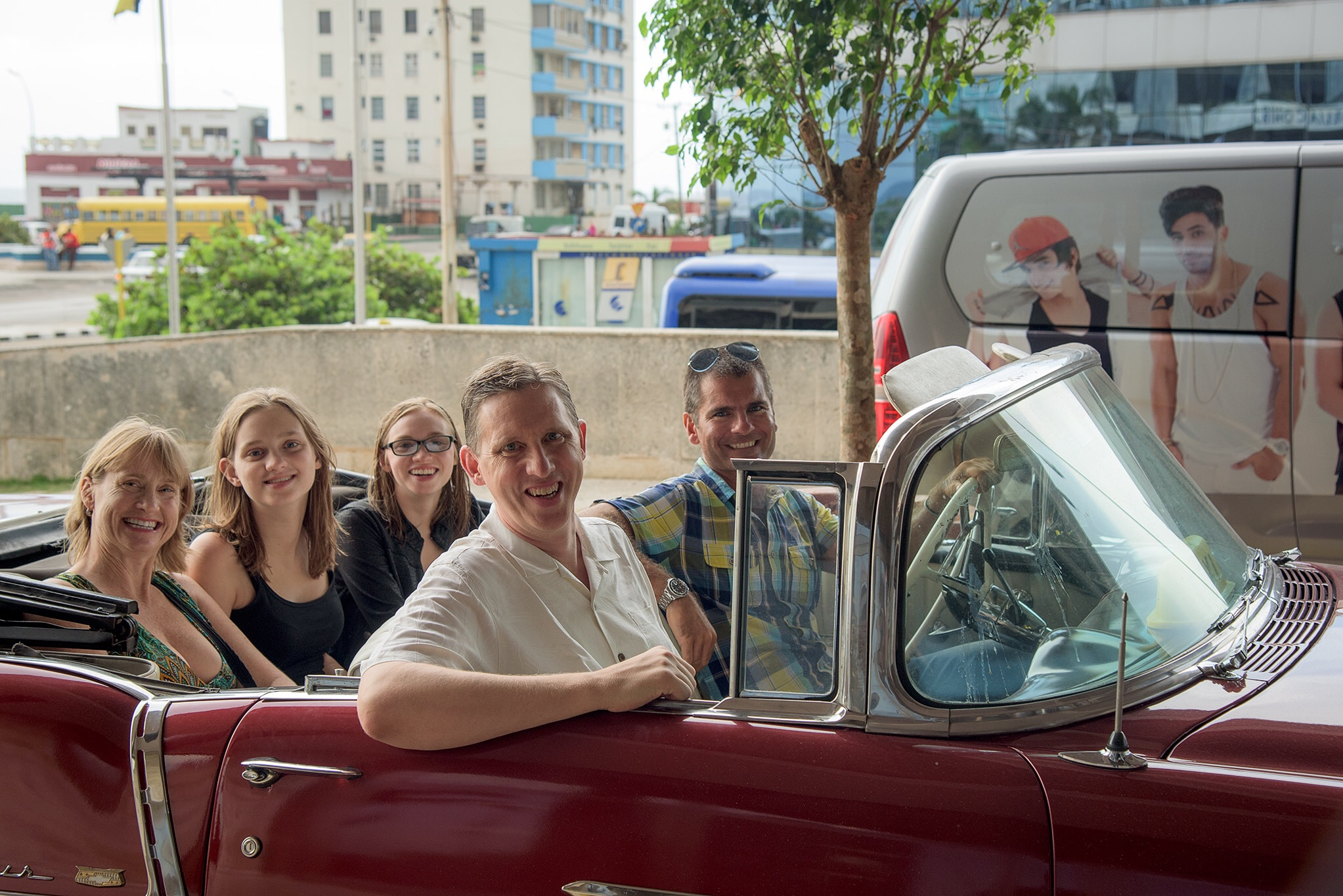The best preserved cars are government owned and operate as tourist taxis. A ride in a '57 Chevy Belair convertible costs about 1/3 to 1/2 more than a standard taxi, but is a bucket list experience for most visitors from the USA. (Photo by Alfredo Insight Cuba)