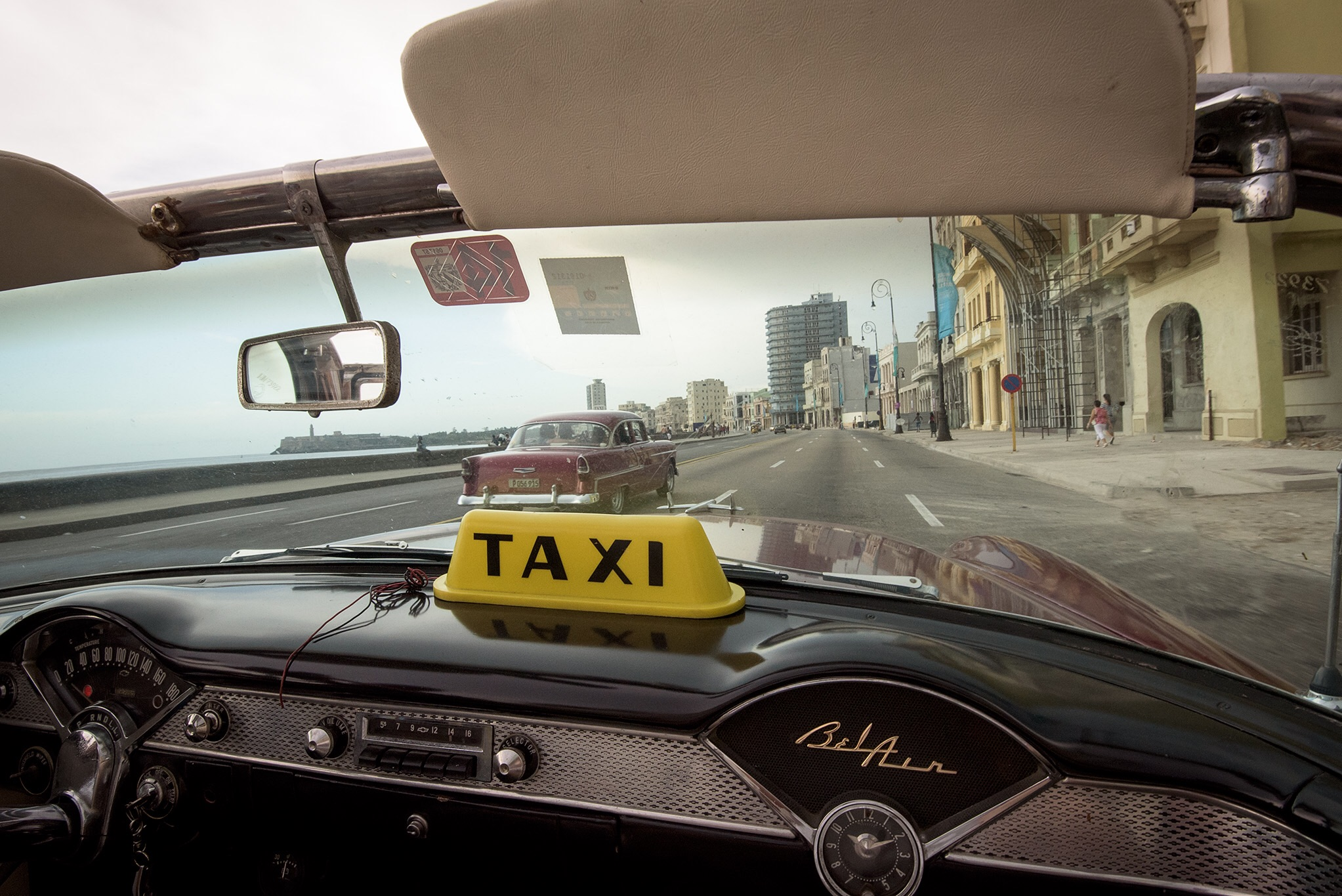 "Cruising along Havana's Malecon in a vintage American car is ""bucket list"" experience for most Americans. It's unlikely the Cuban government or private taxi owners will sell cars like these that they use as tourist taxis."