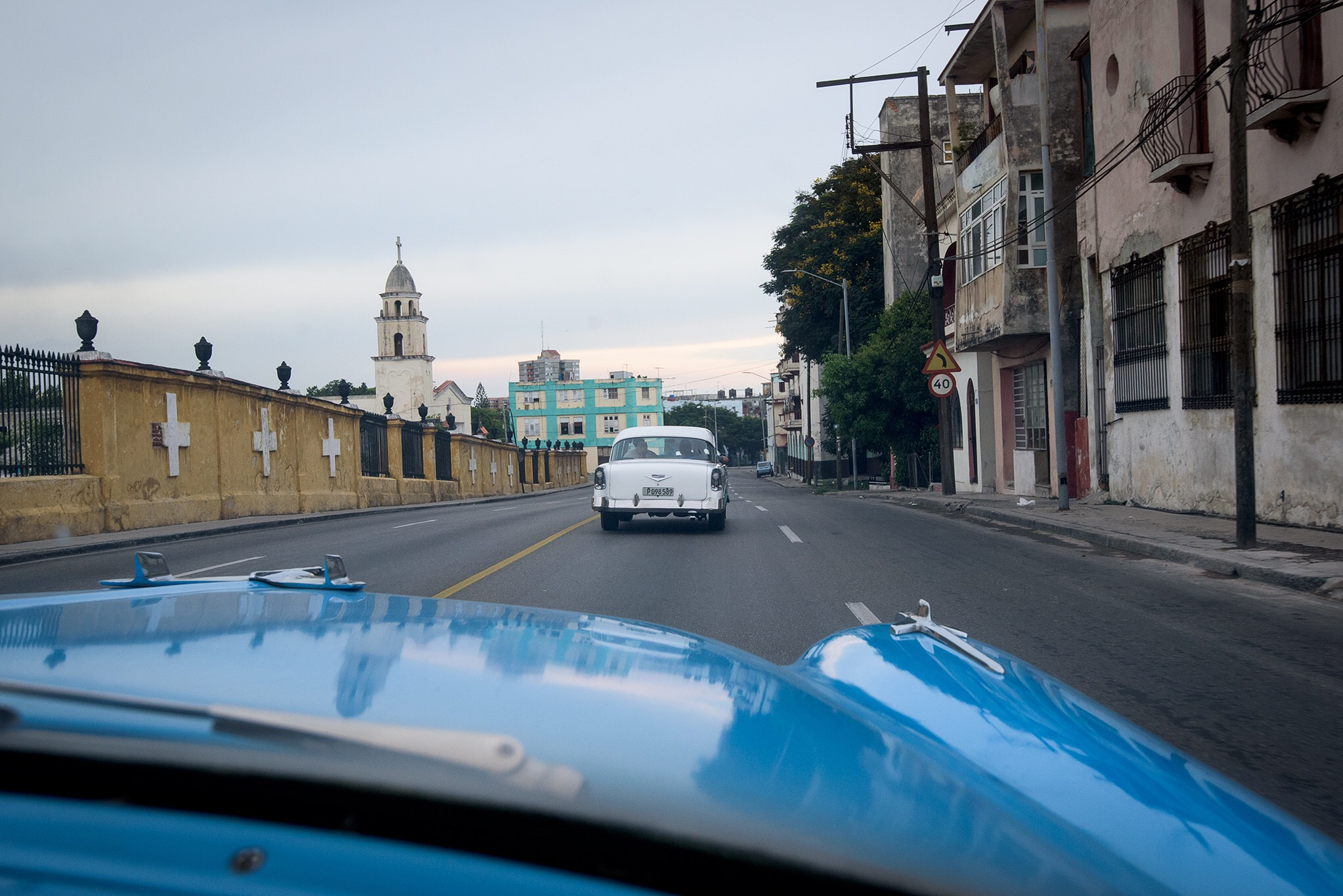 Riding in a car built before my time was a thrilling way to see the city of Havana.