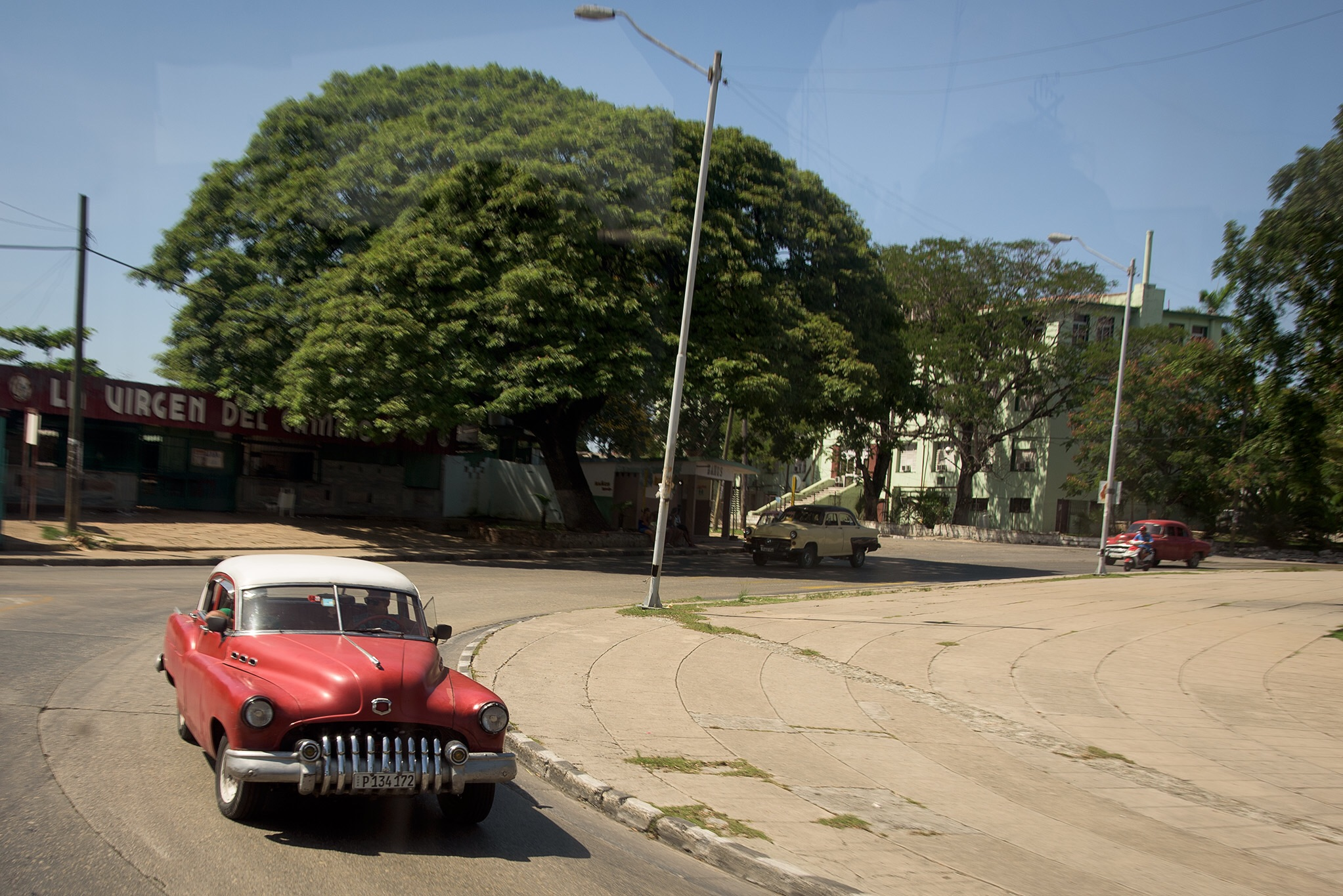 "A ""busy"" travel circle in Havana"