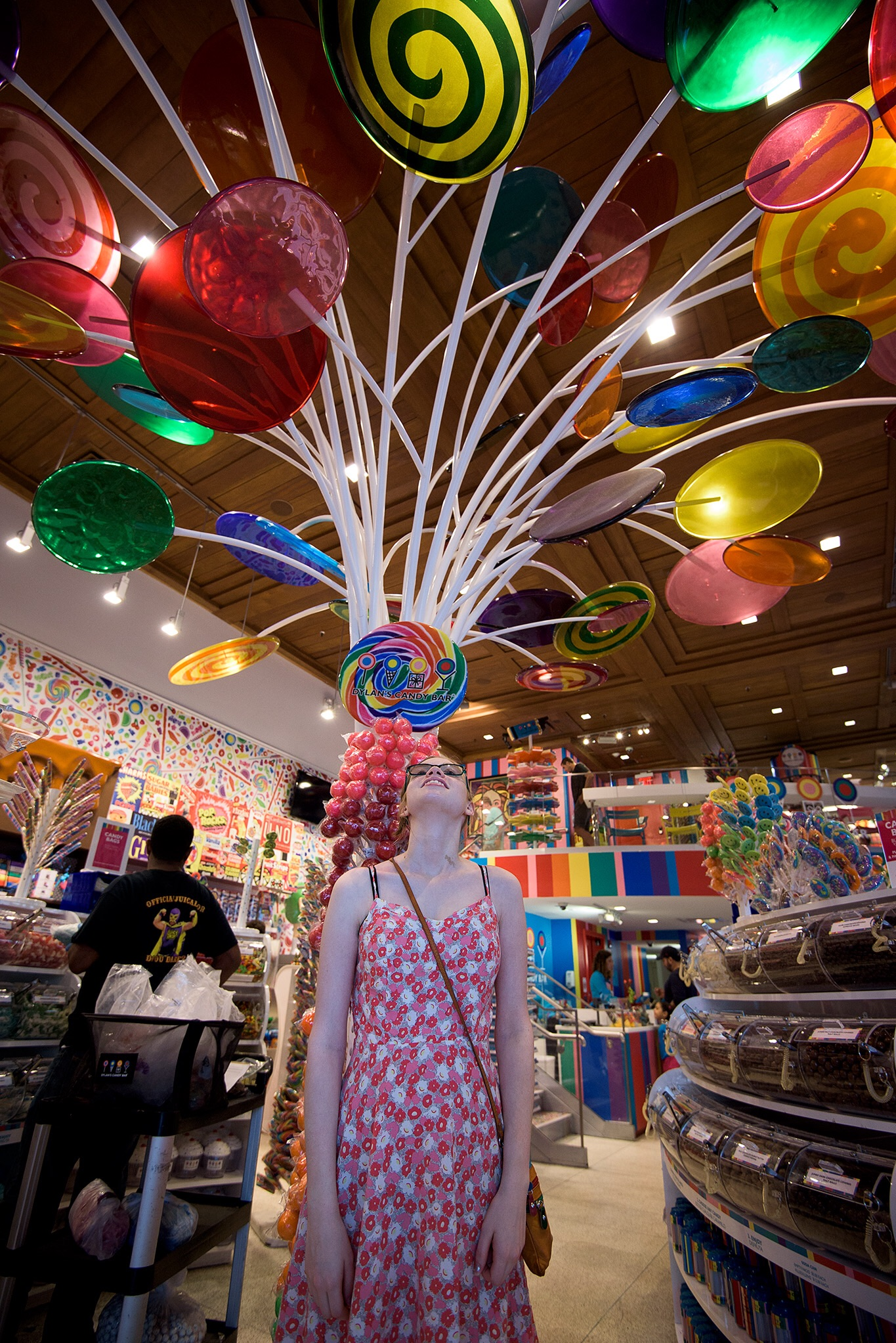 Dylan's Candy Bar is a very colorful shop for kids and kids at heart!