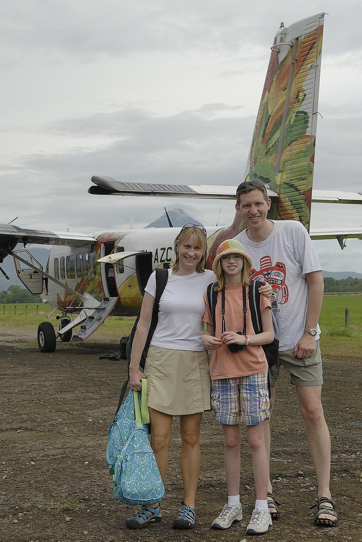 Our Nature Air plane (ABD Photo)