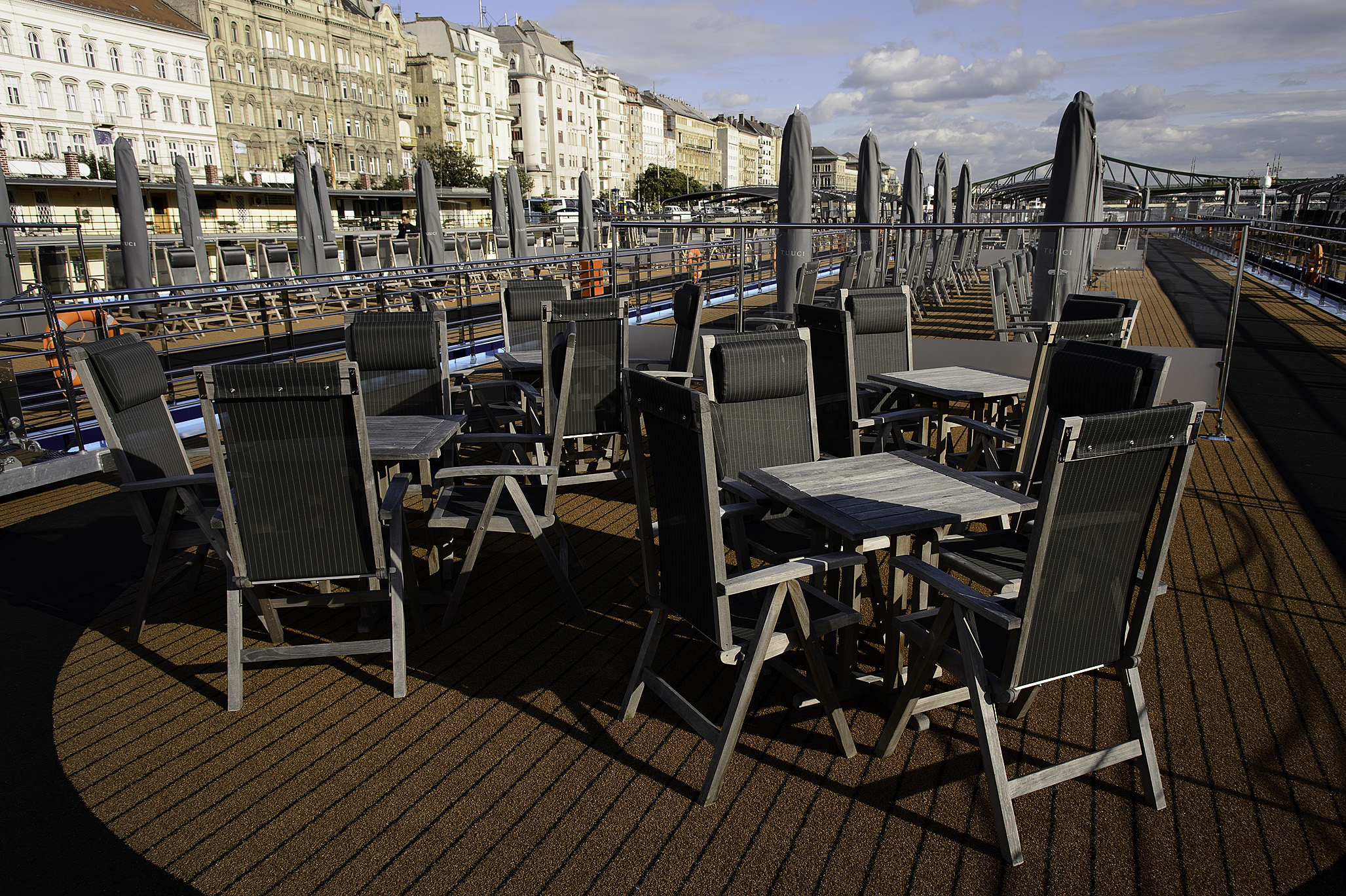 Sun Deck mid ship diningoverC area