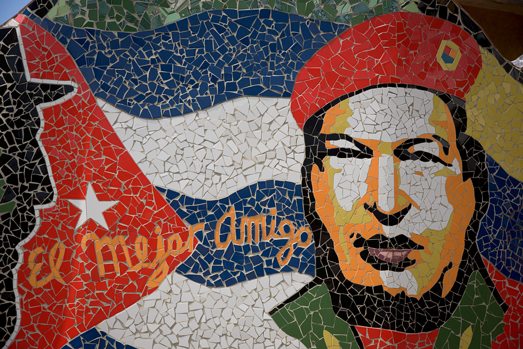 A mosiac in Havana Cuba